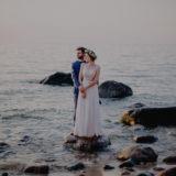 Olga & Kuba - Sesja Ślubna nad morzem