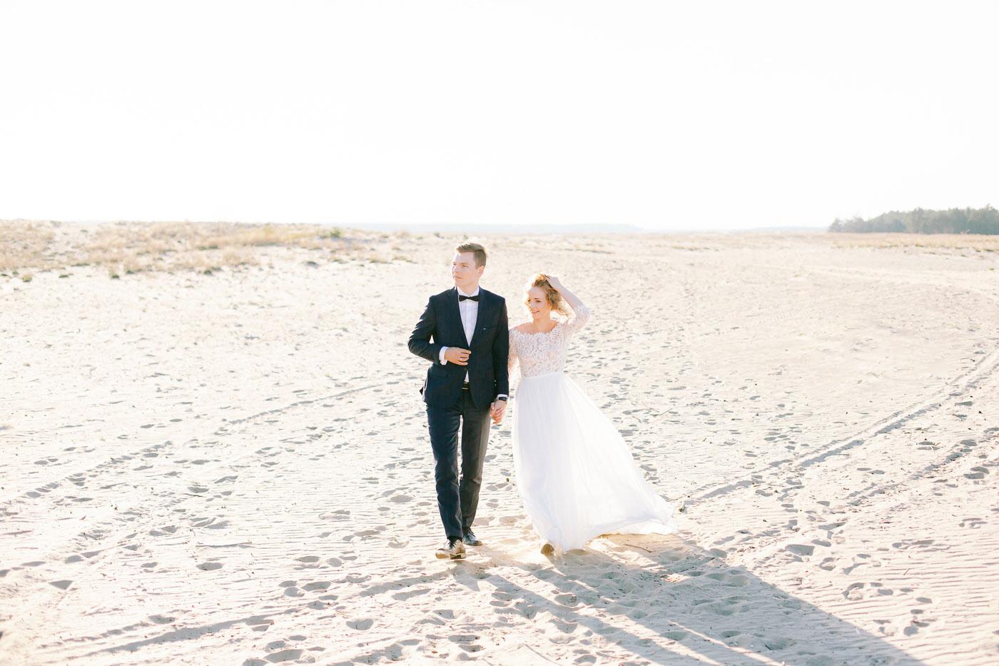 fotograf ślubny fine art pustynia błędowska
