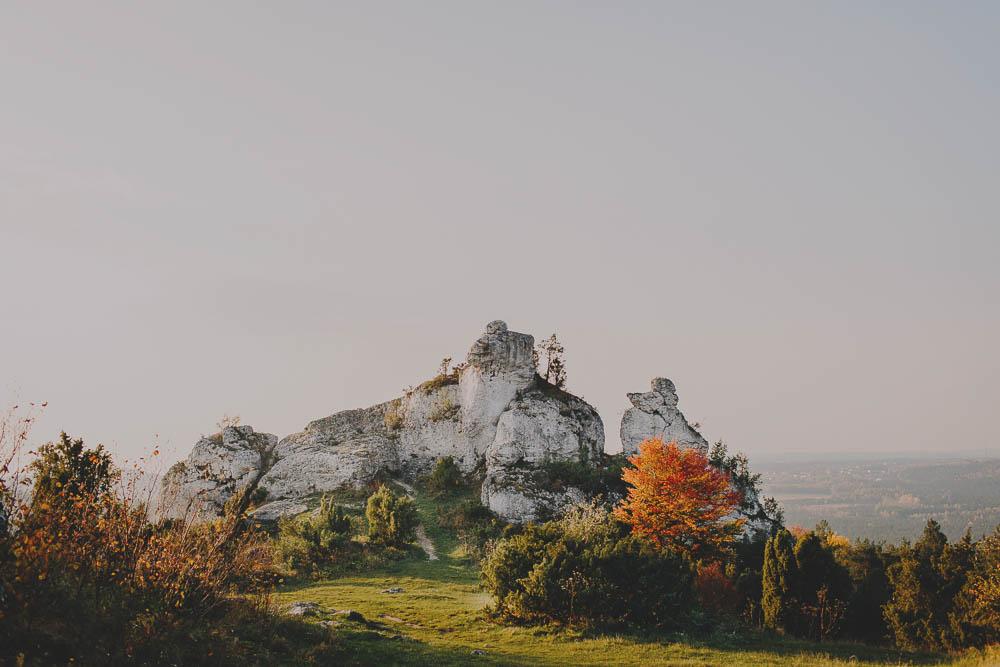Góra Zborów Plener ślubny
