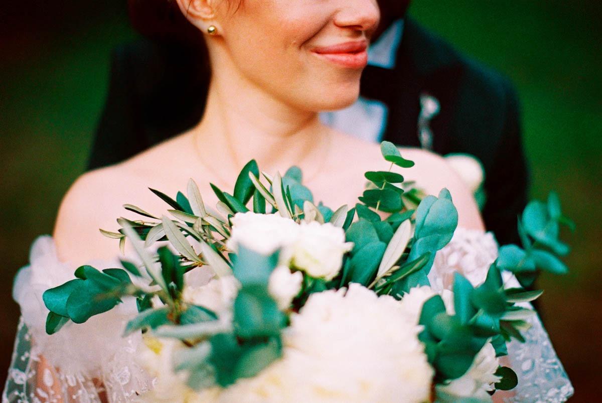 analogowy reportaż ślubny