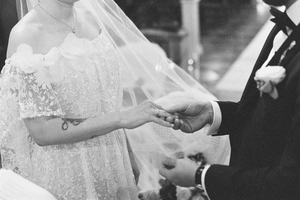 reportaż analogowy ze ślubu i wesela