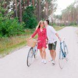 Justyna & Szymek - Sesja z rowerami
