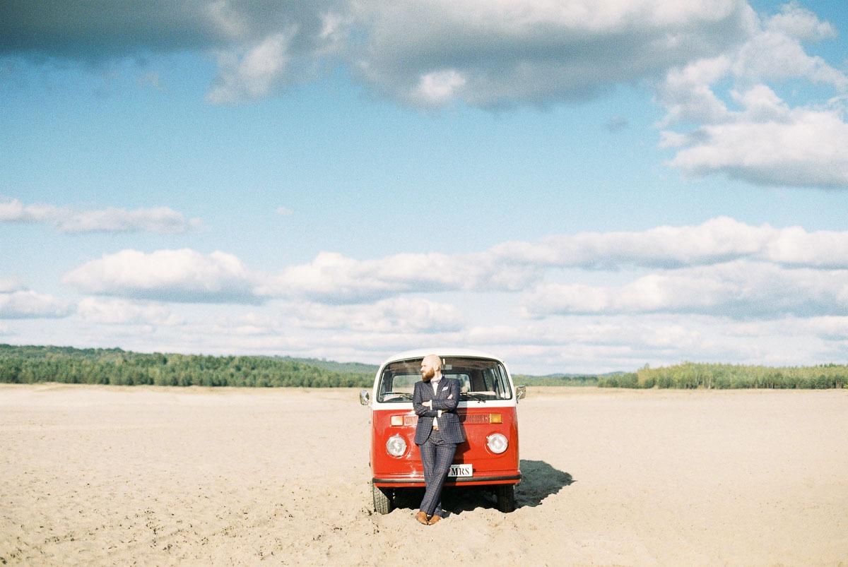 Volkswagen ogórek na wesele