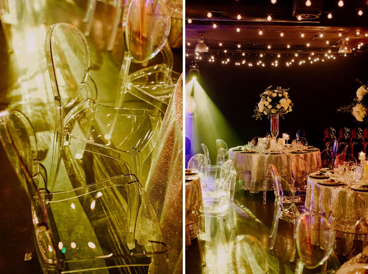 wesele glamour wymiana krzeseł