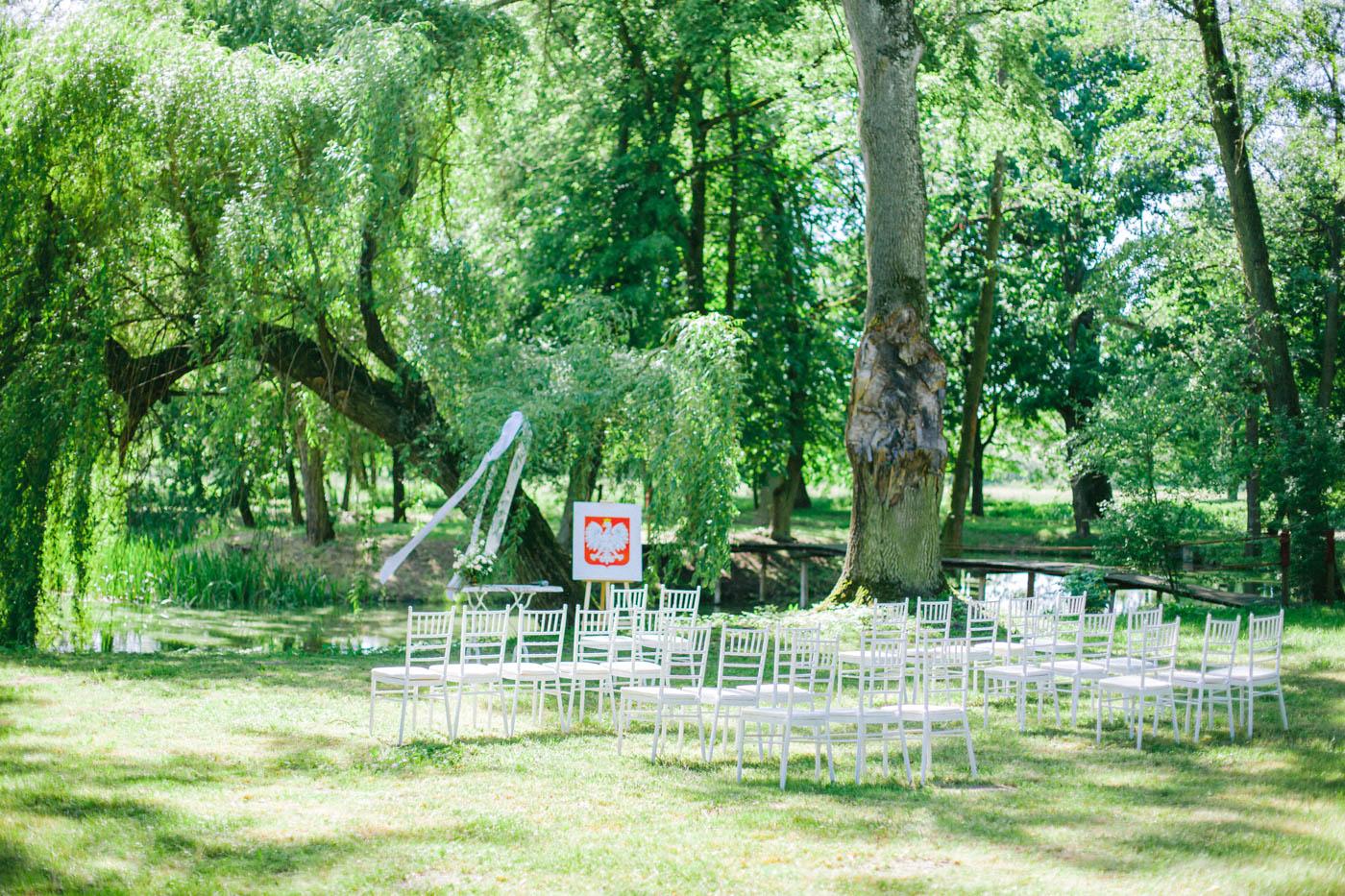 ślub plenerowy pstrokonie
