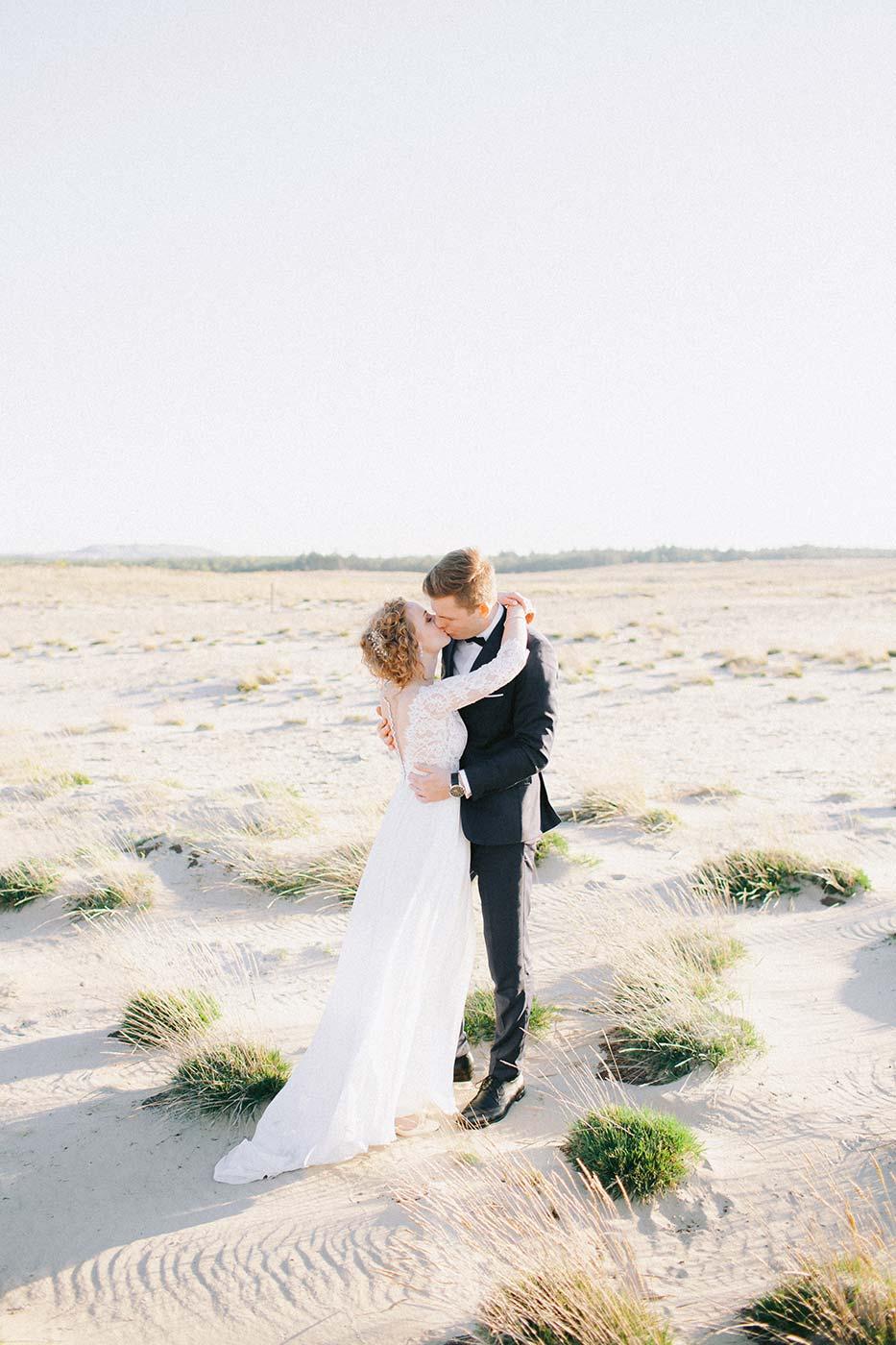 analogowa fotografia ślubna aparatem na kliszę
