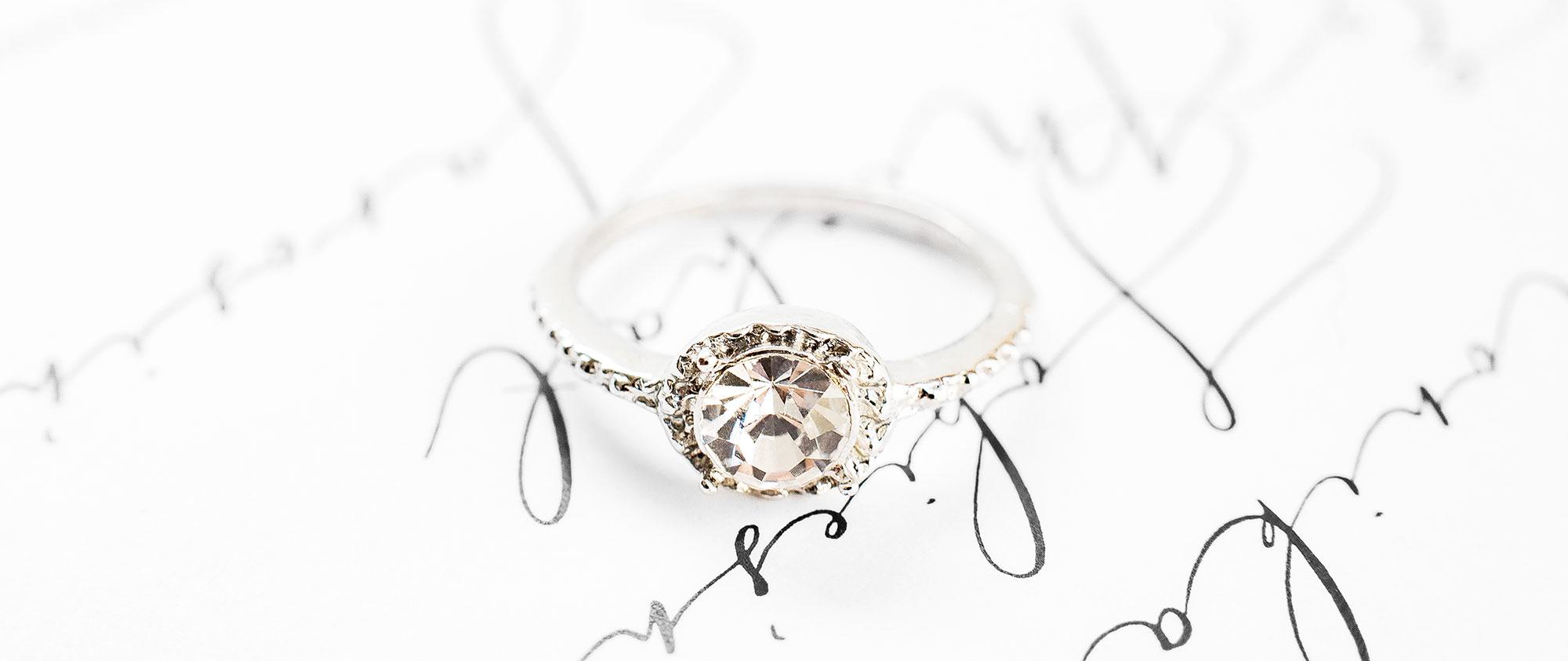fotograf fine art pierścionek zaręczynowy