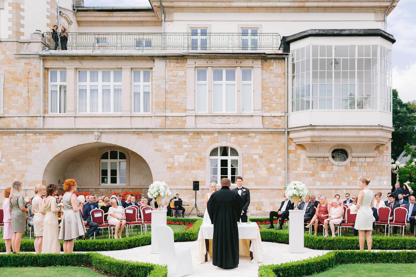 ślub plenerowy pałac brunów