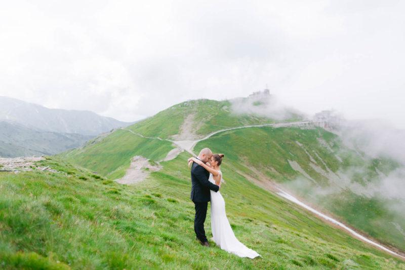 sesja poślubna na kasprowym wierchu