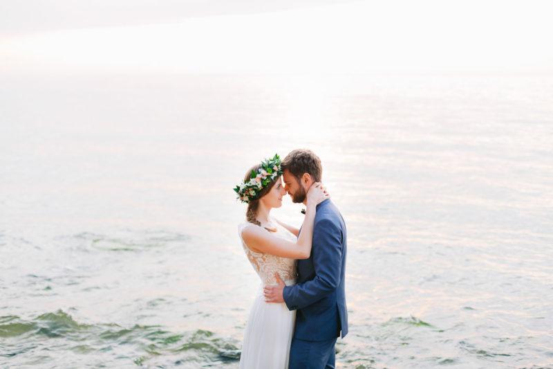 sesja ślubna nad morzem w gdyni