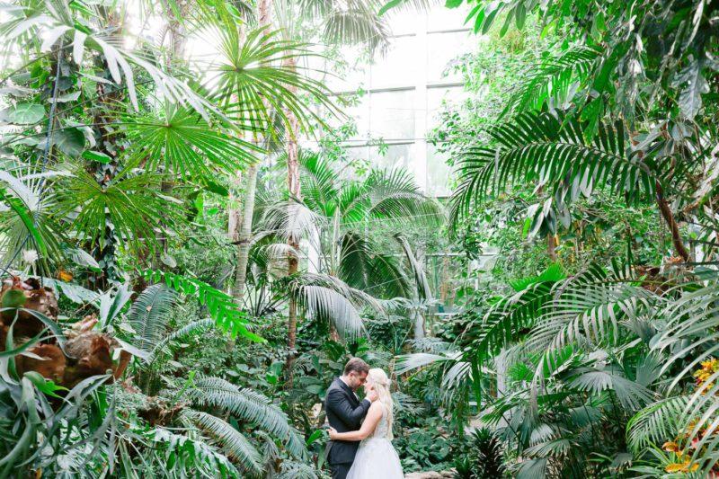 sesja ślubna w palmiarni w łodzi