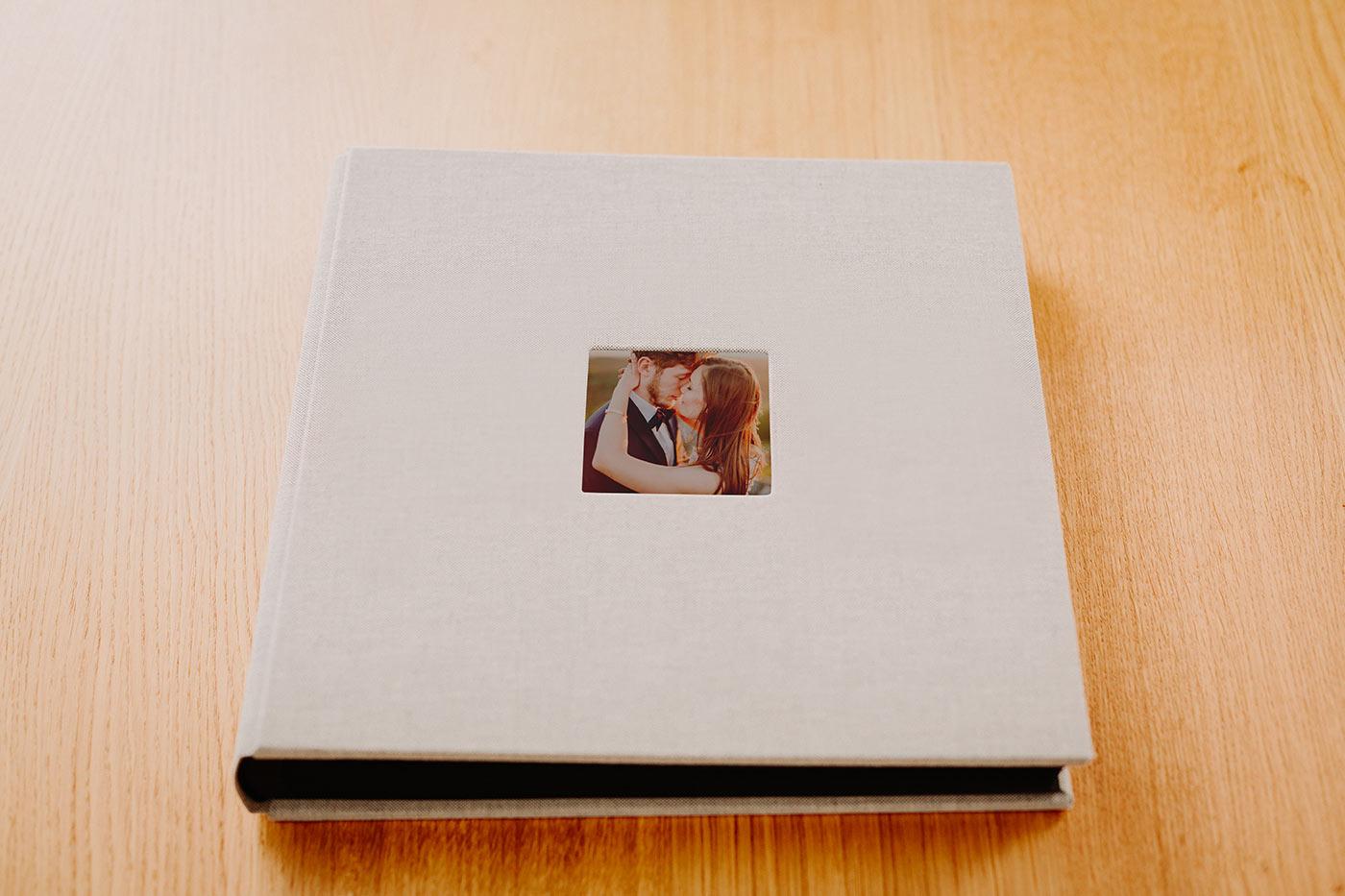 tradycyjny album ślubny
