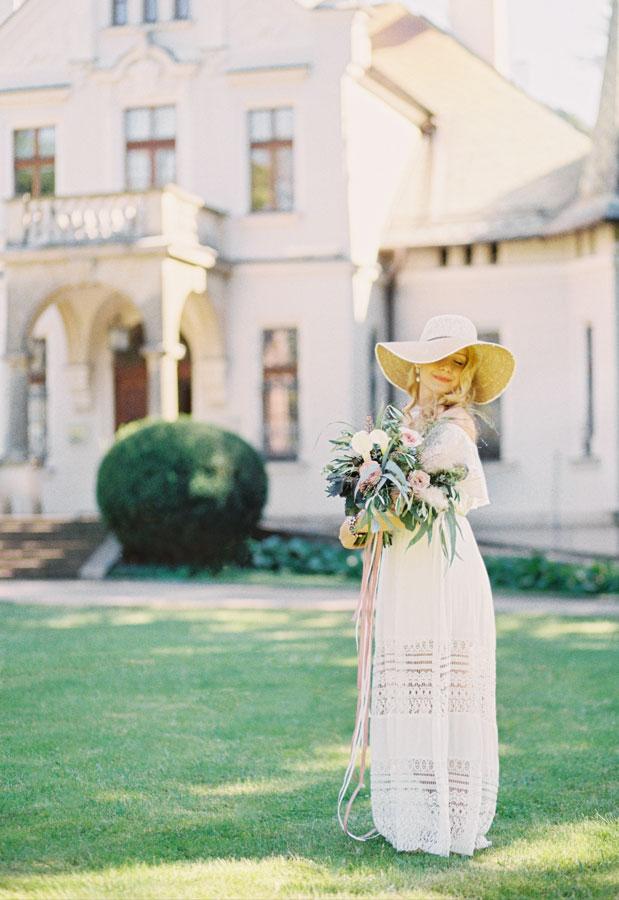 analogowy fotograf ślubny